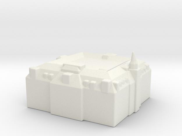 Amsterdam - Sample 02 in White Strong & Flexible