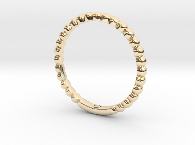 Bubble Ring By Jiang Yuan in 14K Gold