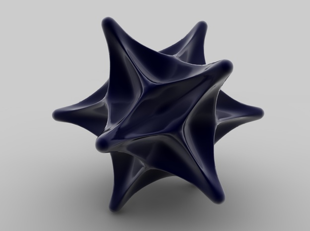Spiky Ball in Black Strong & Flexible