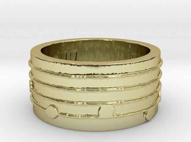 Dies irae Ring Size 12 3d printed