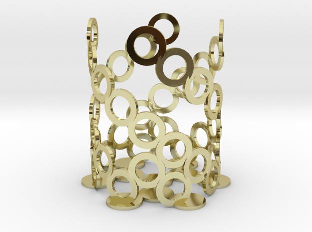 Geometric Candle Holder 2 3d printed