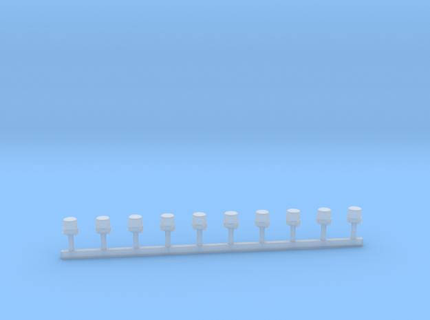 Hänsch Nova In LED-Technik mit Gummikeil 1:43 in Smooth Fine Detail Plastic