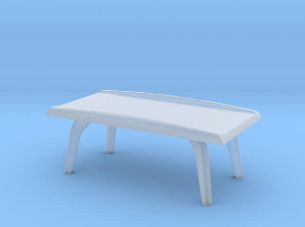 1:48 Moderne Coffee Table in Smooth Fine Detail Plastic