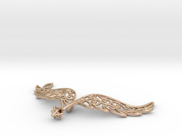 Angel Wings Pendant - precious metals