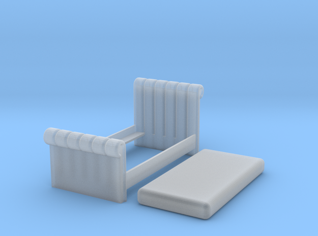 1:48 Tufted Bed (Twin) 3d printed