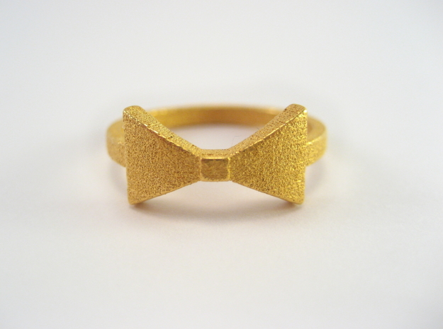 Bow Tie Ring (Size 7)