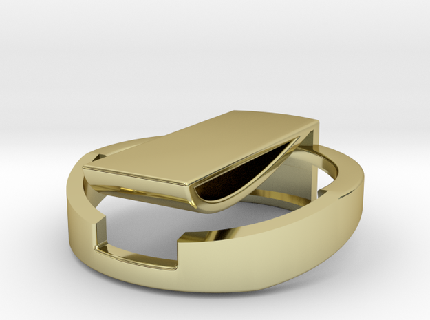 Clip-square 3d printed