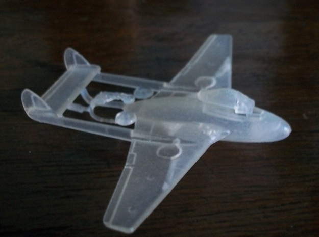 015A - DH Vampire FB.6 1/144 - FUD in Smooth Fine Detail Plastic