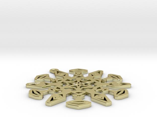 Large Snowflake Pendant 3d printed