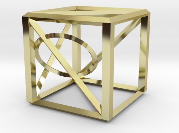 iliCube Pendant 3d printed
