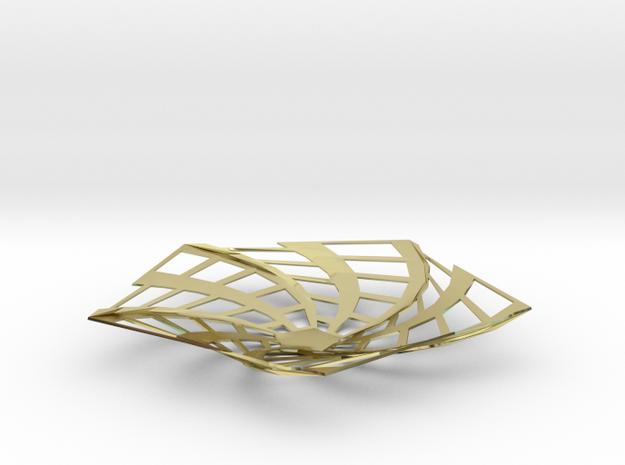 Spiderweb Open Platter 3d printed