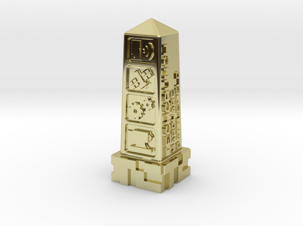Techcrunch Hardware Battlefield Trophy 3d printed