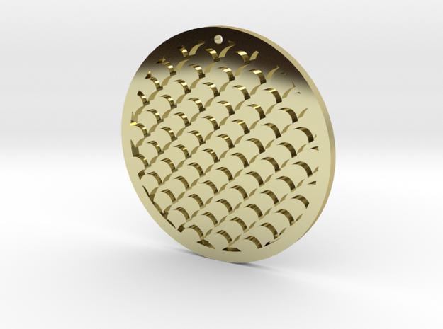 Circle Pendant 3d printed