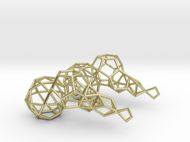 Earring_geometry 3d printed