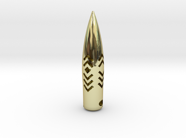 HOG Tooth style Pendant .50 Cal BMG