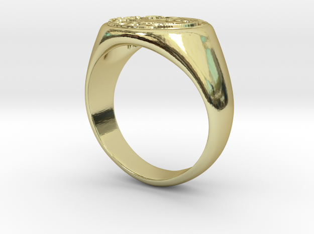 Size 8 Targaryen Ring