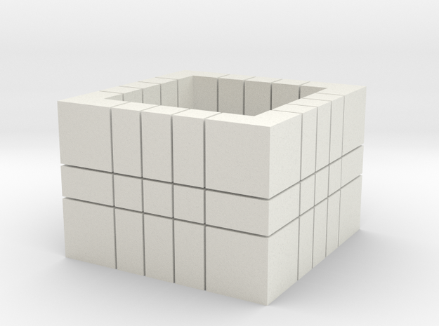 5x5x3 (Read Description)  in White Strong & Flexible
