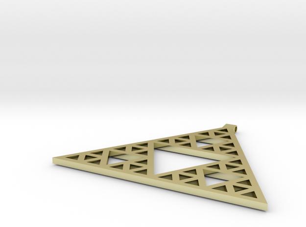 Sierpinski's Triangle Pendant
