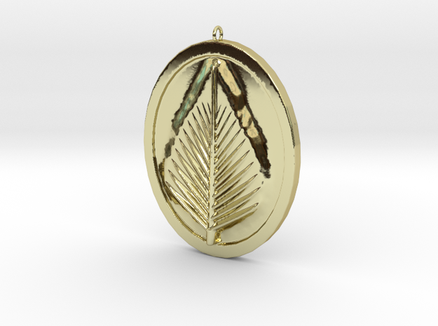 Natural Leaf Beauty Pendant