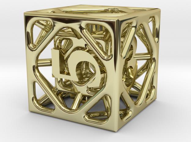 Cage Die6 3d printed