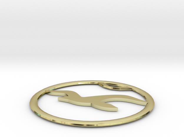 Hollister Logo 3d printed