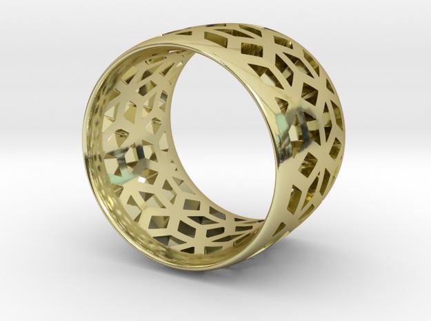 geometric ring 3 3d printed