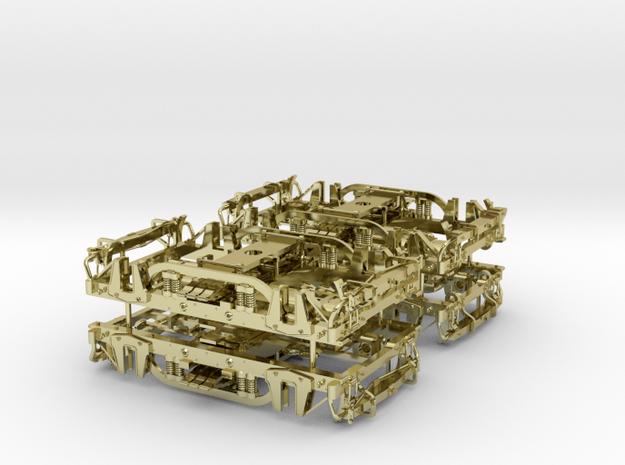 Carter Bros Passenger Car Trucks 3d printed