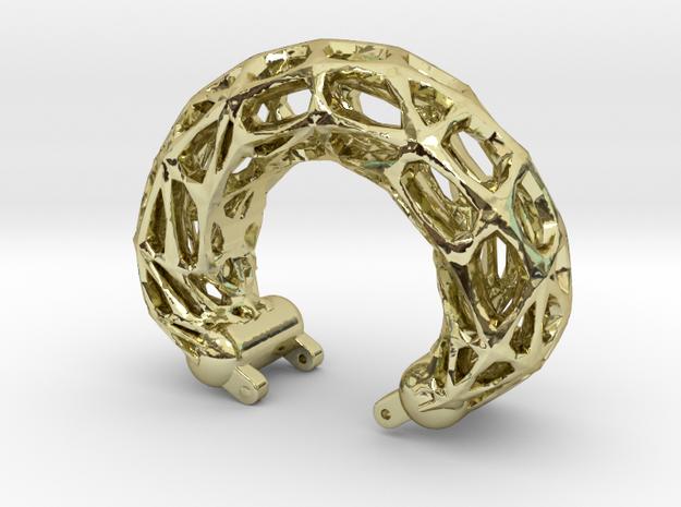 Armreif-frames-55komp.-fix in 18K Gold Plated