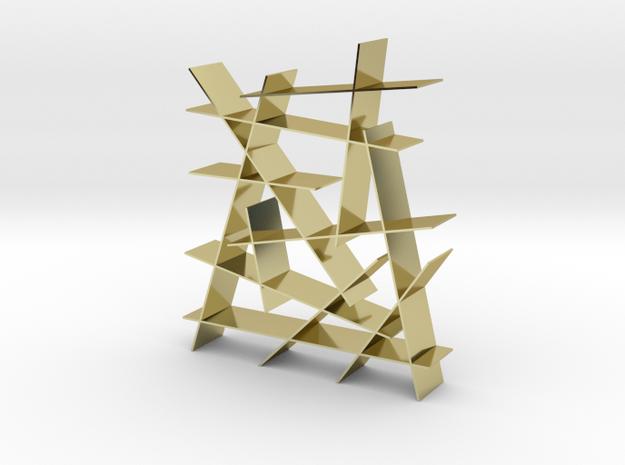 Crash Bookcase 1:12 scale modern bookcase 3d printed