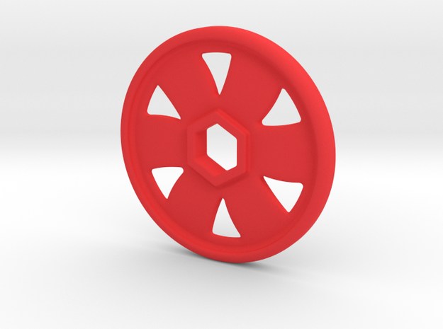 Replacement disc for Fisher Price Imaginext - Sing in Red Processed Versatile Plastic