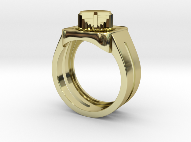 303 Acid Ring 3d printed