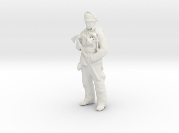 Firemann Take in White Natural Versatile Plastic
