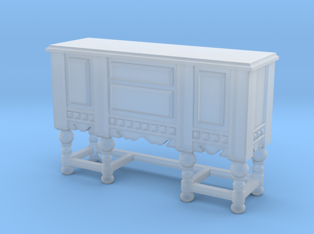 1:48 Shabby Chic Sideboard in Smooth Fine Detail Plastic
