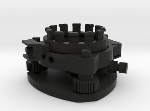 Geodimeter 600 1/4th scale base in Black Natural Versatile Plastic