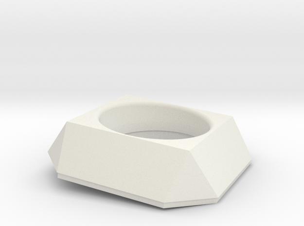 Einlaufring Eagle 001 TypB in White Natural Versatile Plastic