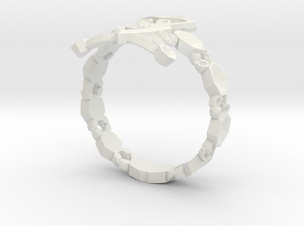 RING315 in White Natural Versatile Plastic
