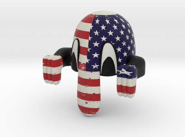 Kilroy Desk Toy: USA 3d printed