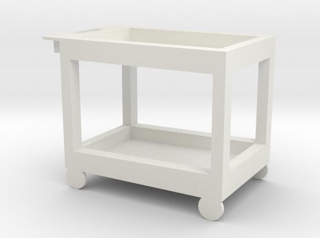 HTLA Computer Cart 5% in White Natural Versatile Plastic