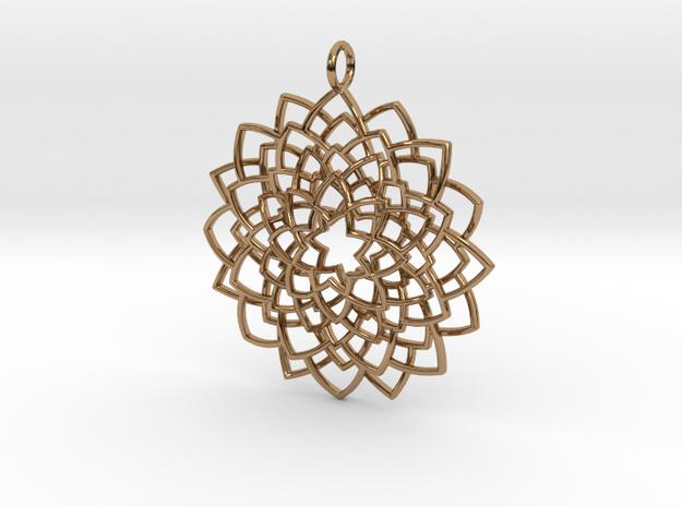 Mandala Flower Necklace