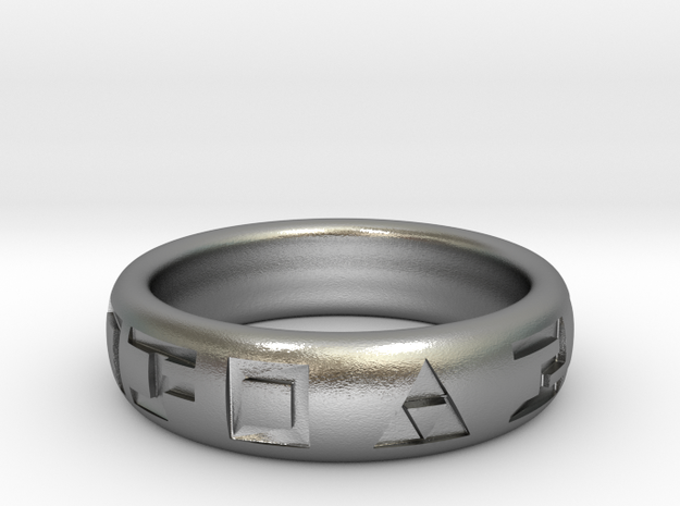 Hylian Hero's Band - 5mm Band - Size 5.5 3d printed