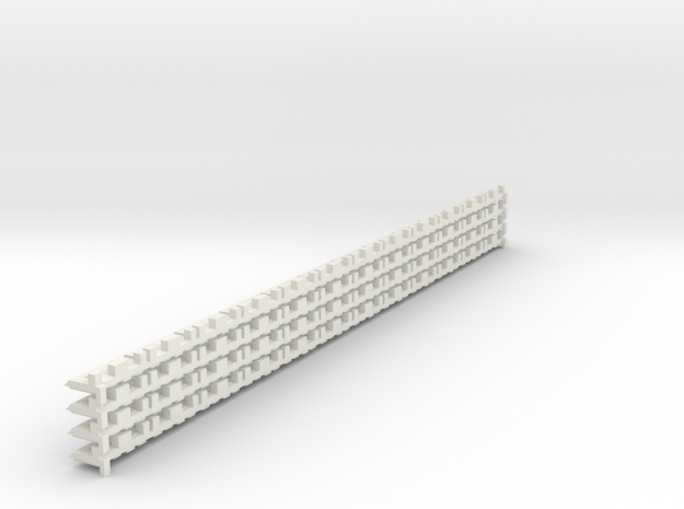 P-165st-short-track-border-x48-1a in White Natural Versatile Plastic