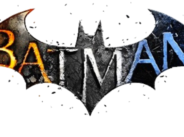 Batman Arkham Name Plate in White Natural Versatile Plastic