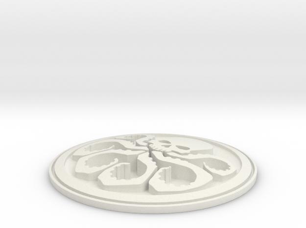 HYDRA badge 3d printed