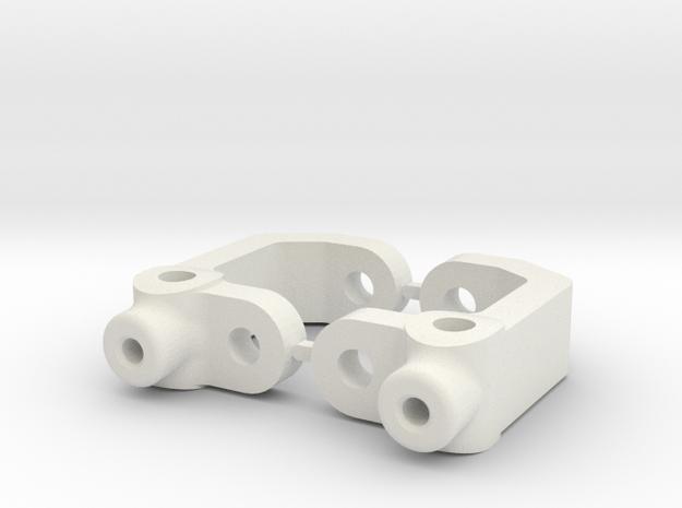 RC10B3 - 2.5 DEGREE - DIRT OVAL - CASTOR BLOCK in White Natural Versatile Plastic