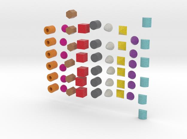 Building  Blocks version 2 in Full Color Sandstone