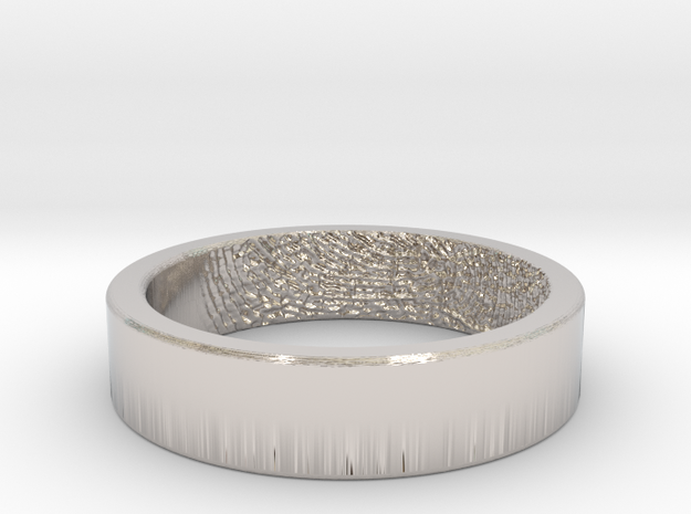 Fingerprint Ring - His