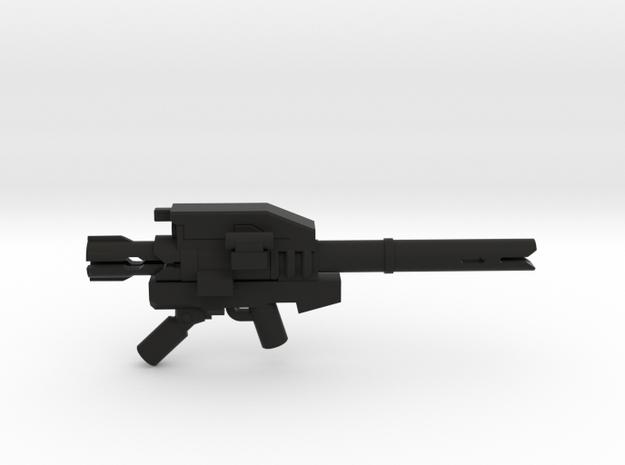 Heavy Trooper Launcher  in Black Natural Versatile Plastic