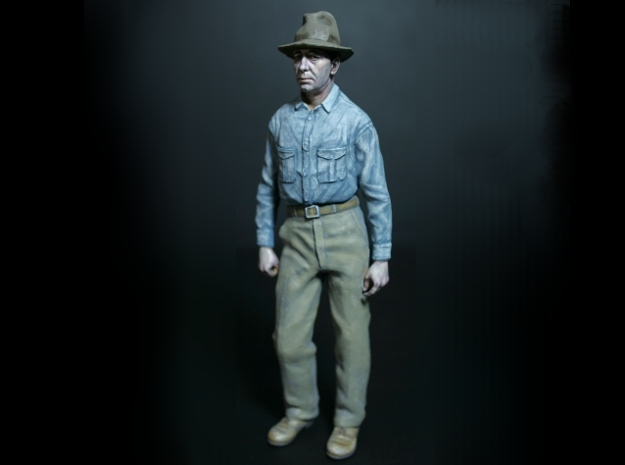 SE Fred Figure in Smooth Fine Detail Plastic