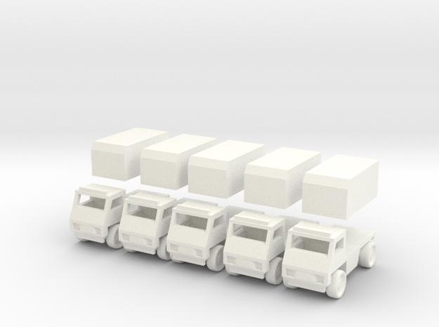 Civilian truck [ 5 Pack ] 3d printed
