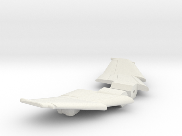 Aerial Reconnoiter Wings in White Natural Versatile Plastic